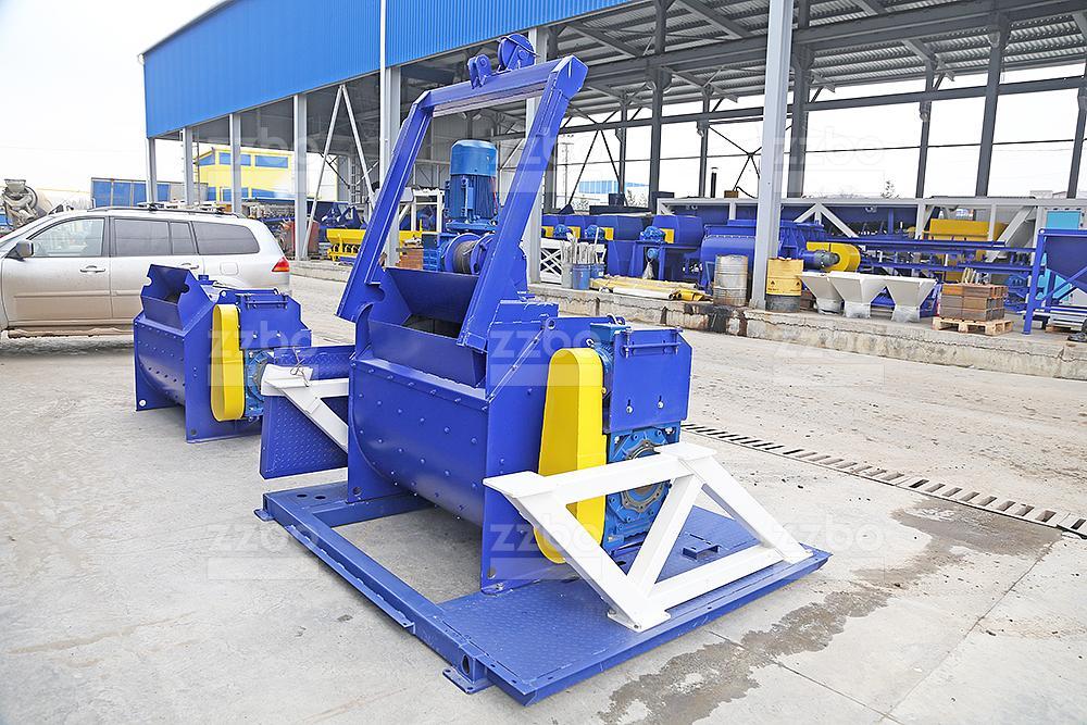 Одновальный бетоносмеситель БП-1Г-500с - фото 1