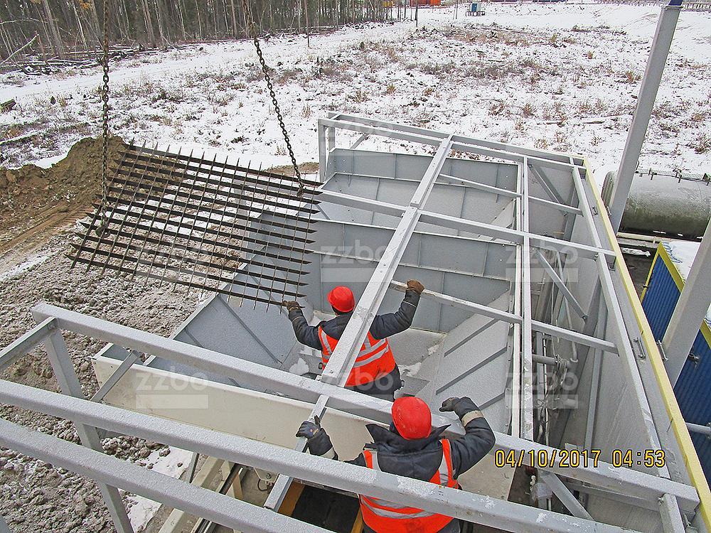 Решетка на секцию бункера 100х100 <br> для ДКМ-80 (ДКМ-60) - фото 3