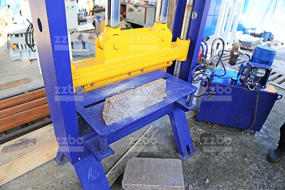 Пресс для колки камней (мрамор) ПК-80М - фото 8