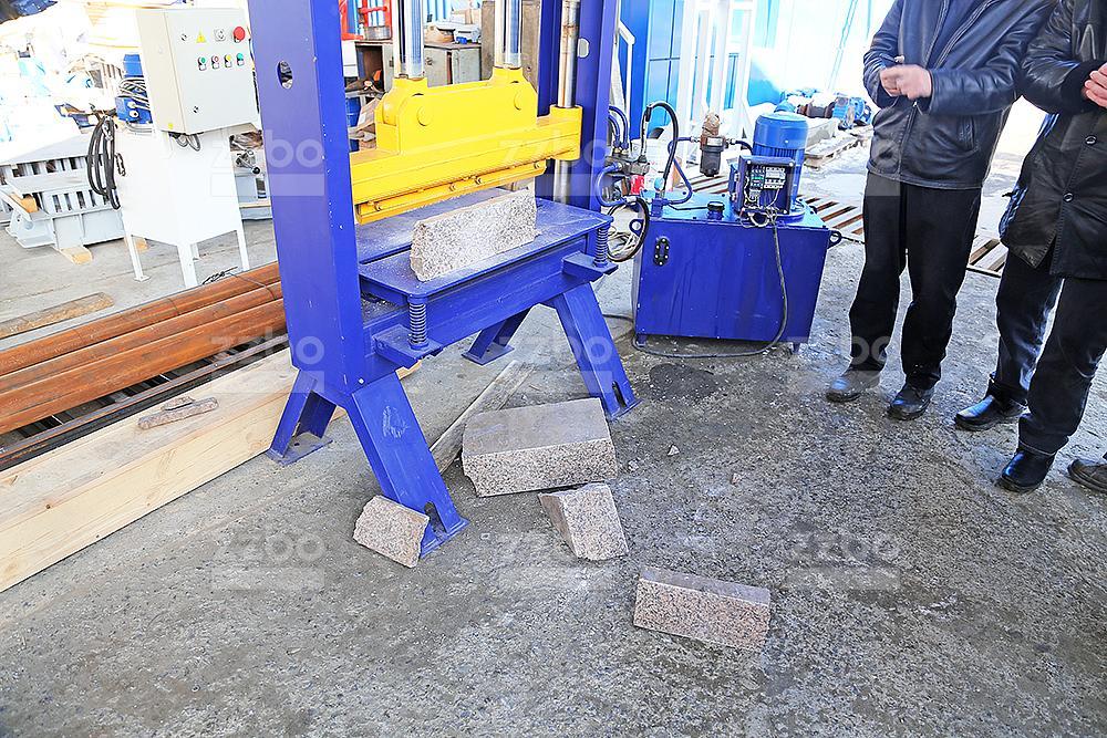 Пресс для колки камней (мрамор) ПК-80М - фото 11