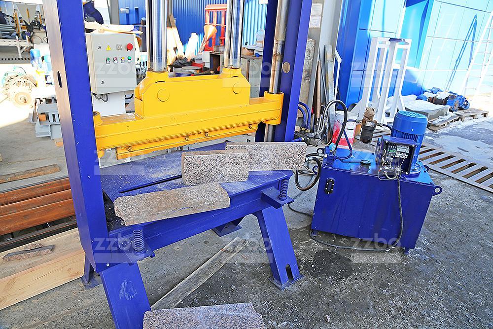 Пресс для колки камней (мрамор) ПК-80М - фото 13