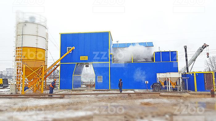 Рекомендации по летней подготовке бетонного завода к работе в зимний период