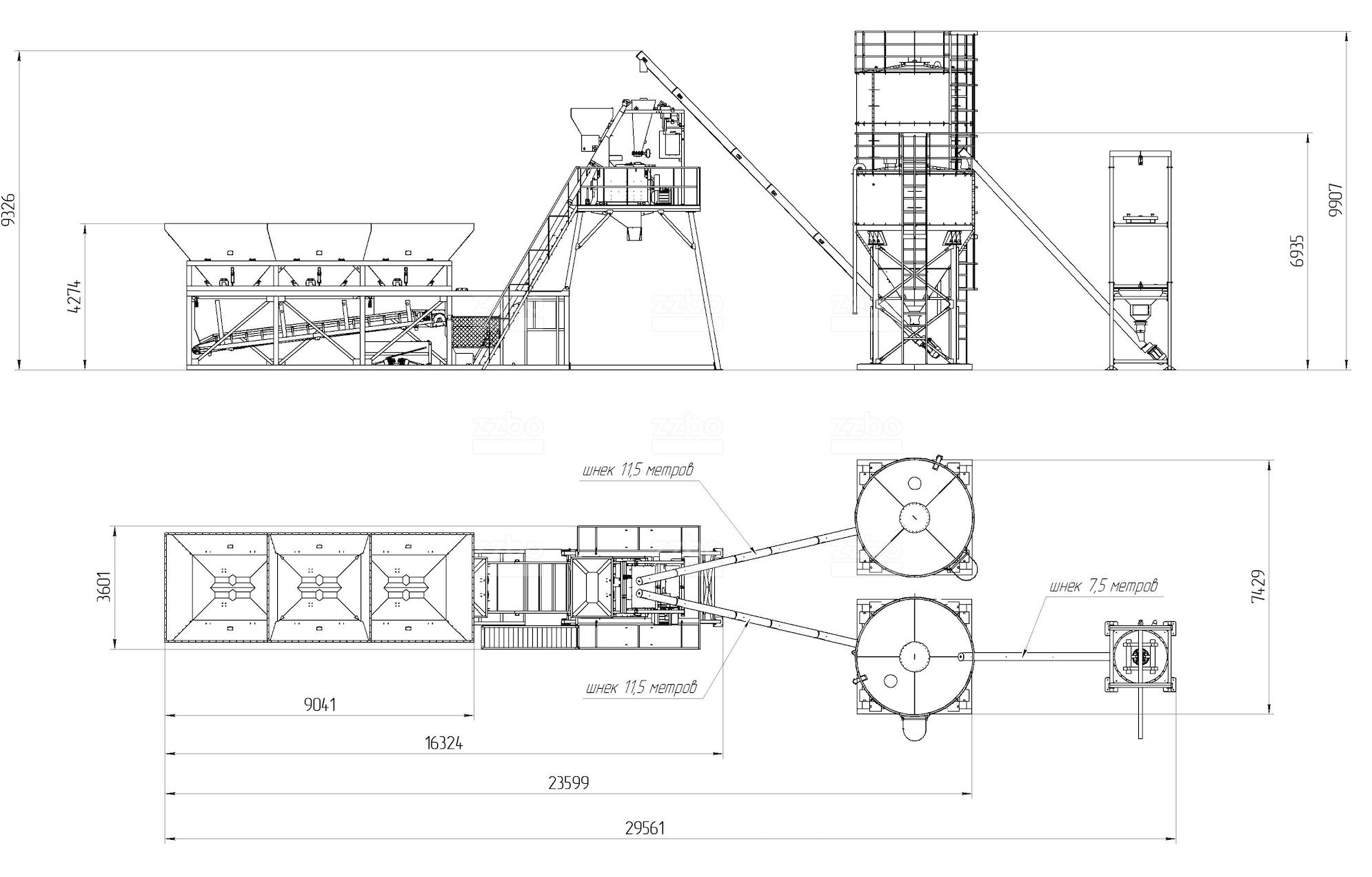Влияние некорректной комплектации на производительность бетонного завода