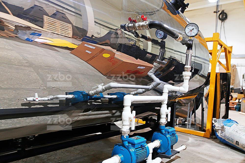 Дизельный парогенератор ПГ-2000 на раме - фото 22