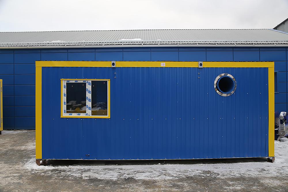 Блок контейнер под ТГВ-600 и ПГ-2000 - фото 1