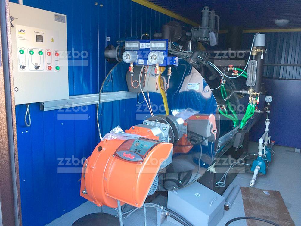 Газовый парогенератор ПГ-500 на раме - фото 1