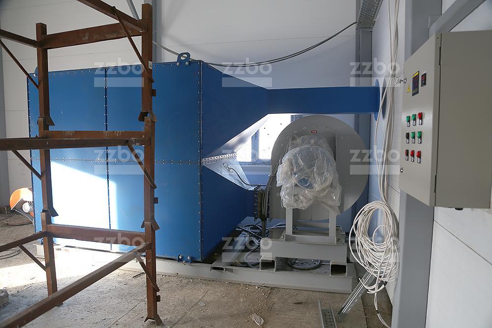 Дизельный теплогенератор ТГВ-600 на раме - фото 8