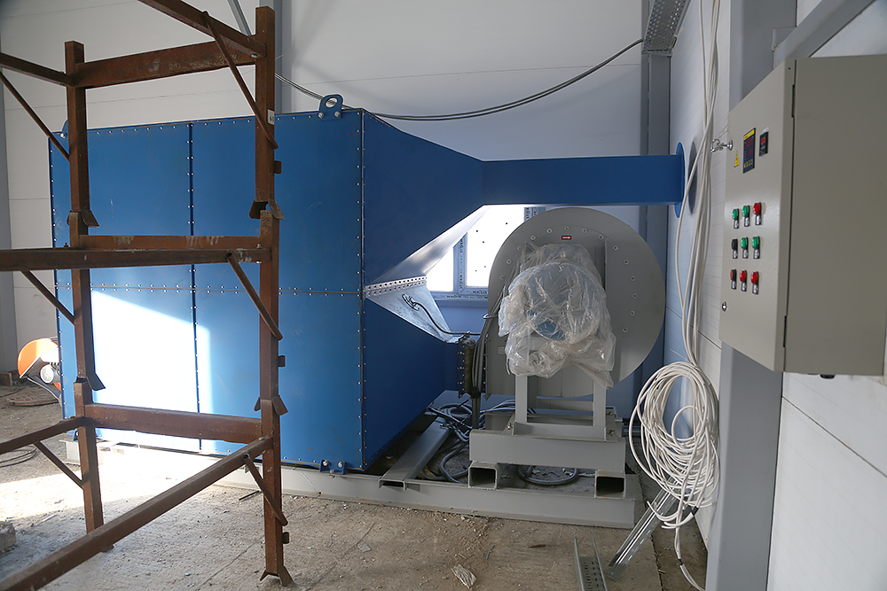 Газовый теплогенератор ТГВ-600 на раме - фото 8
