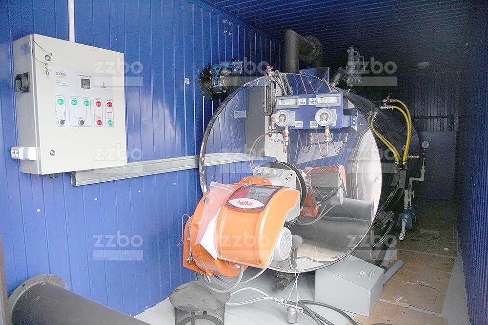 Газовый парогенератор ПГ-2000 на раме - фото 7