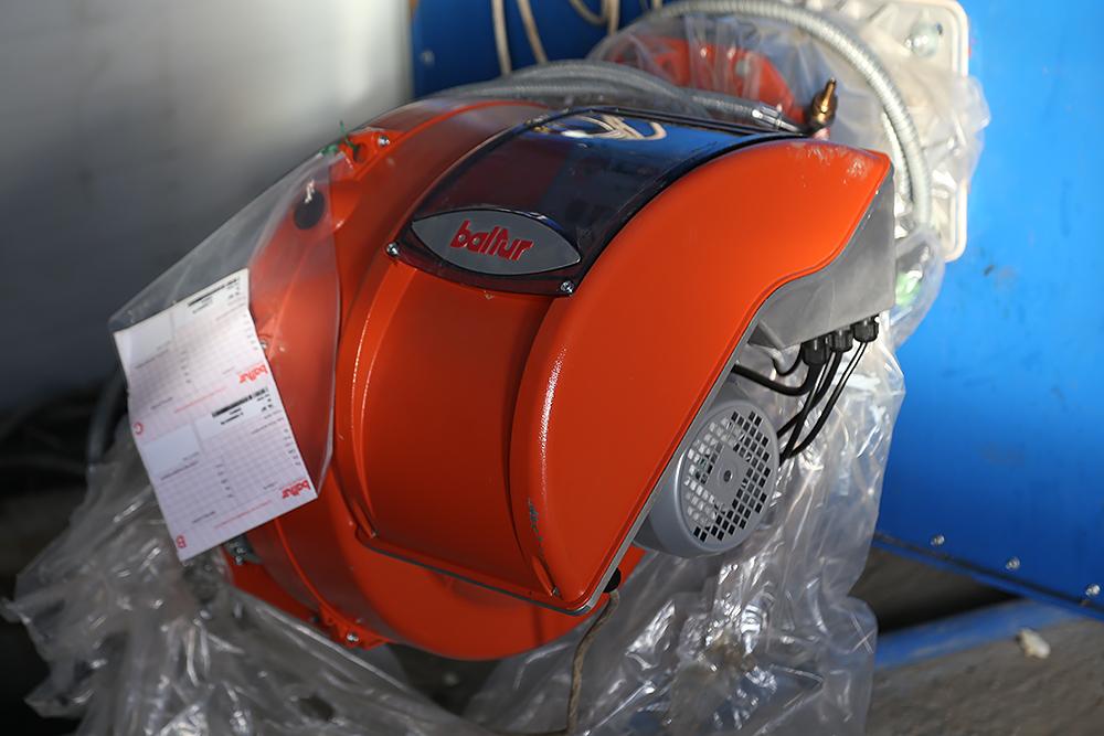 Газовый теплогенератор ТГВ-600 на раме - фото 10