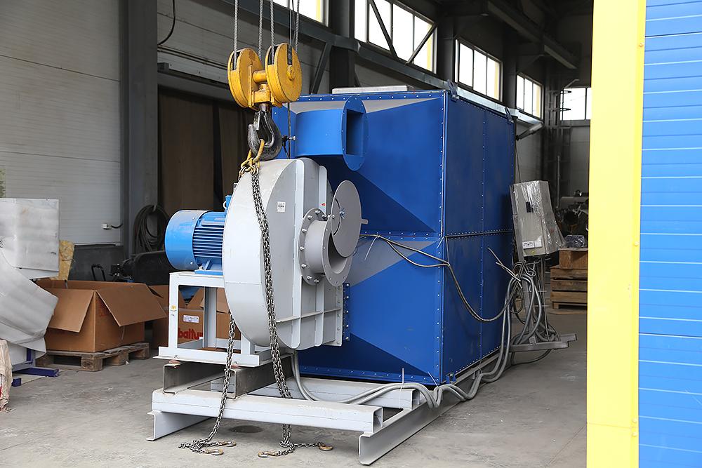 Газовый теплогенератор ТГВ-600 на раме