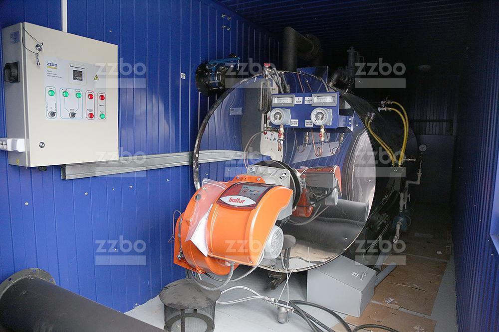 Дизельный парогенератор ПГ-2000 на раме - фото 15