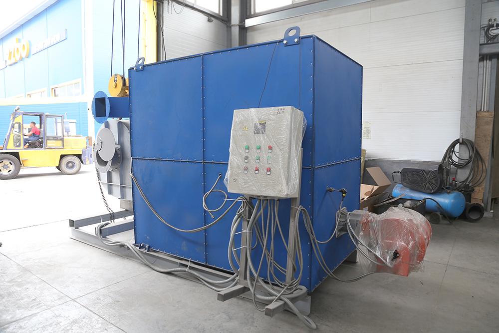 Газовый теплогенератор ТГВ-600 на раме - фото 11