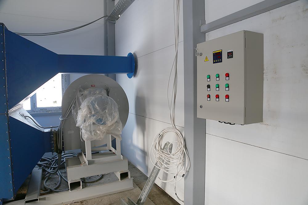 Газовый теплогенератор ТГВ-600 на раме - фото 12