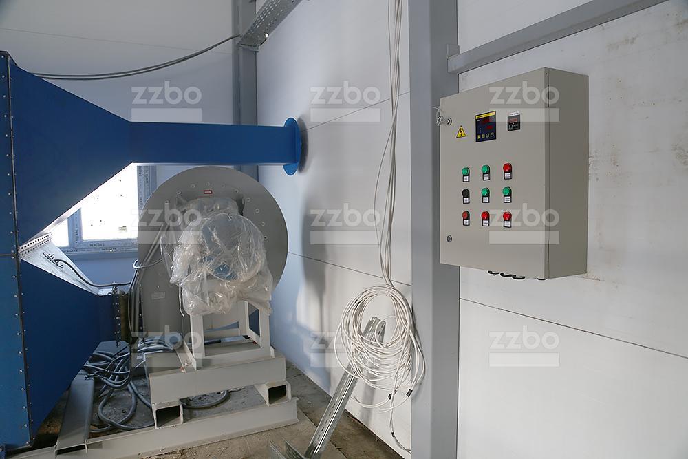 Дизельный теплогенератор ТГВ-800 </br>  в блок-контейнере - фото 24