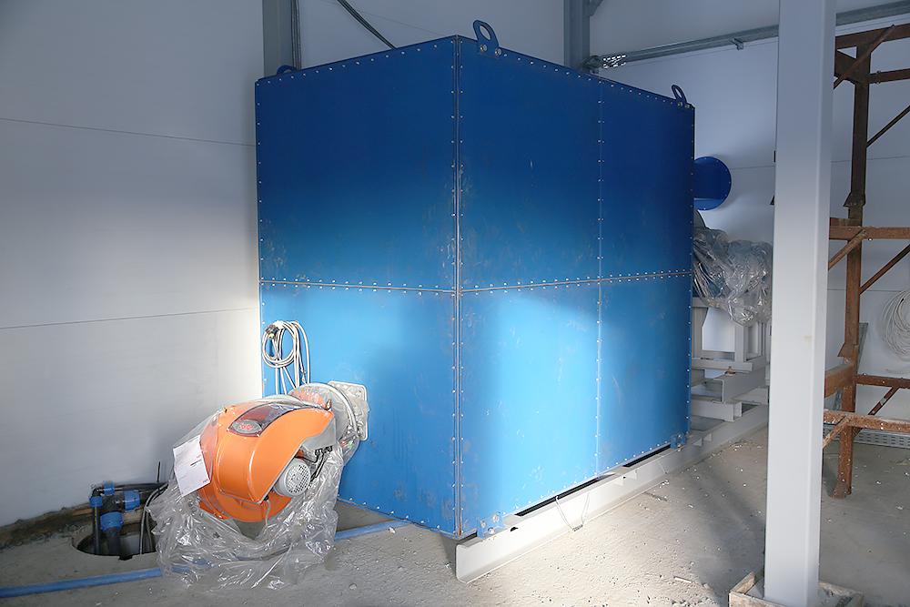 Газовый теплогенератор ТГВ-600 на раме - фото 22