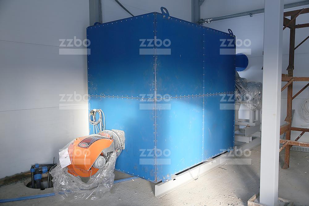 Дизельный теплогенератор ТГВ-800 </br>  в блок-контейнере - фото 23