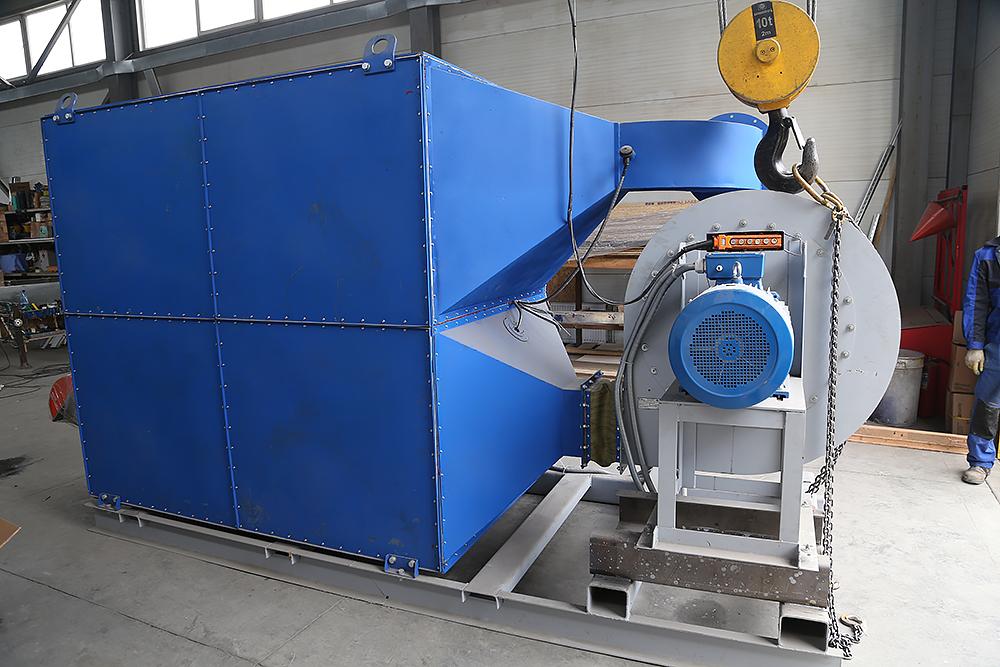 Газовый теплогенератор ТГВ-600 на раме - фото 14