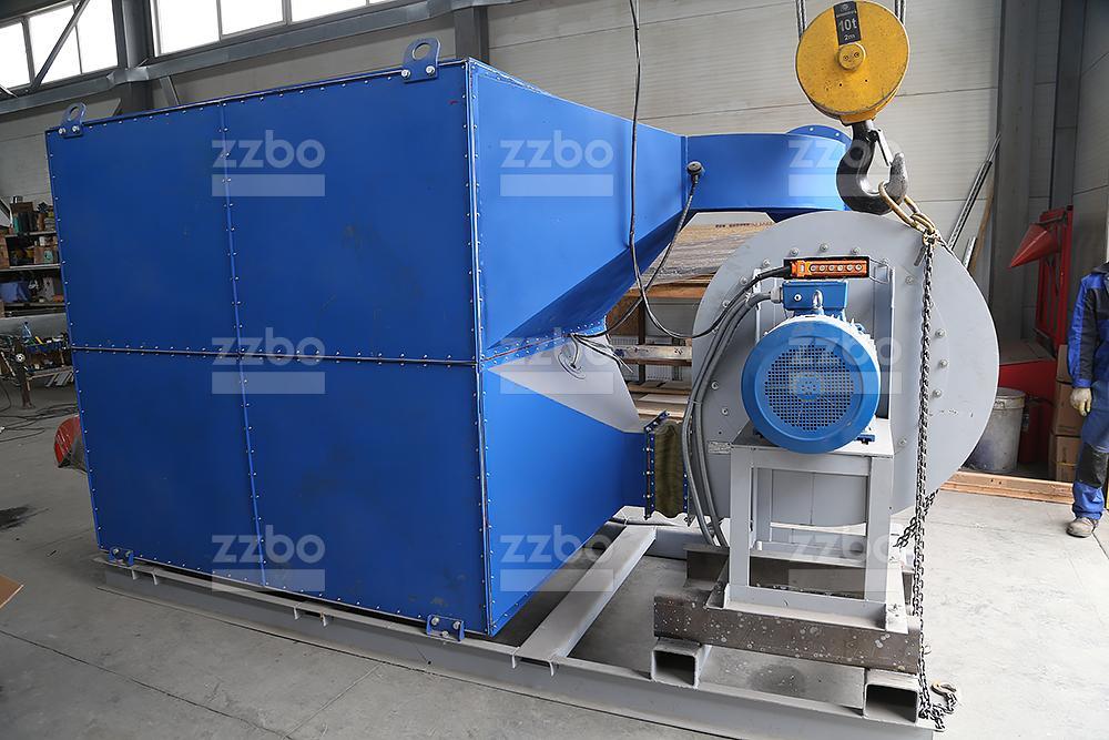 Дизельный теплогенератор ТГВ-800 </br>  в блок-контейнере - фото 22