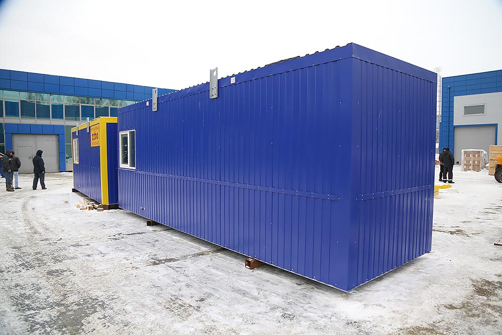 Блок контейнер под ТГВ-600 и ПГ-2000 - фото 2