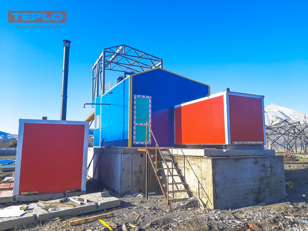 Блок контейнер под ПГ-500; ПГ-1000; ВК-10; ТГВ-600 - фото 4