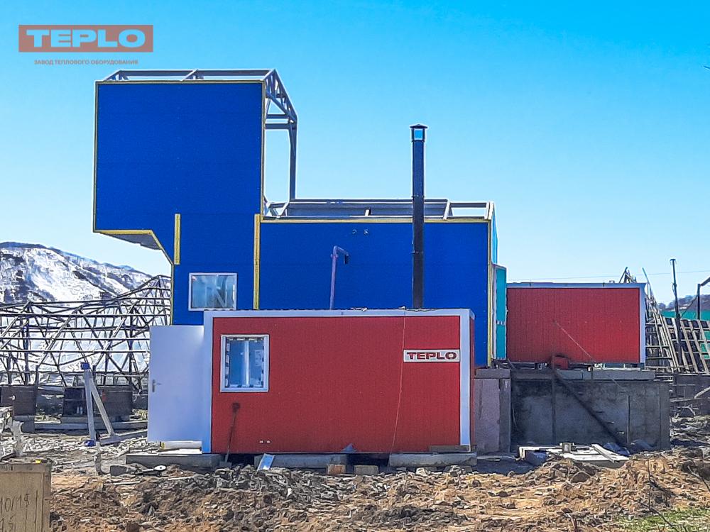 Блок контейнер под ПГ-500; ПГ-1000; ВК-10; ТГВ-600 - фото 3