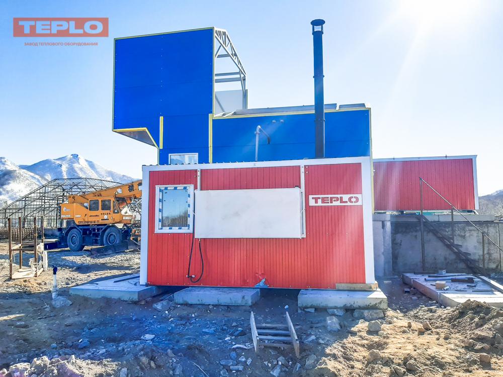 Блок контейнер под ПГ-500; ПГ-1000; ВК-10; ТГВ-600