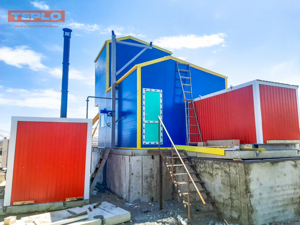 Блок контейнер под ПГ-500; ПГ-1000; ВК-10; ТГВ-600 - фото 2