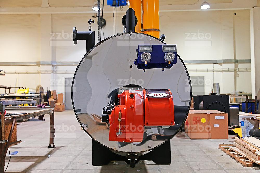 Дизельный парогенератор ПГ-2000 на раме - фото 20