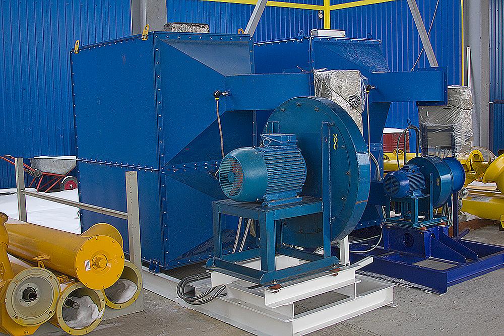 Газовый теплогенератор ТГВ-600 на раме - фото 2