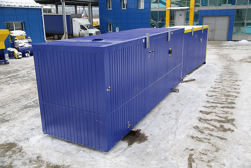 Блок контейнер под ТГВ-600 и ПГ-2000 - фото 4