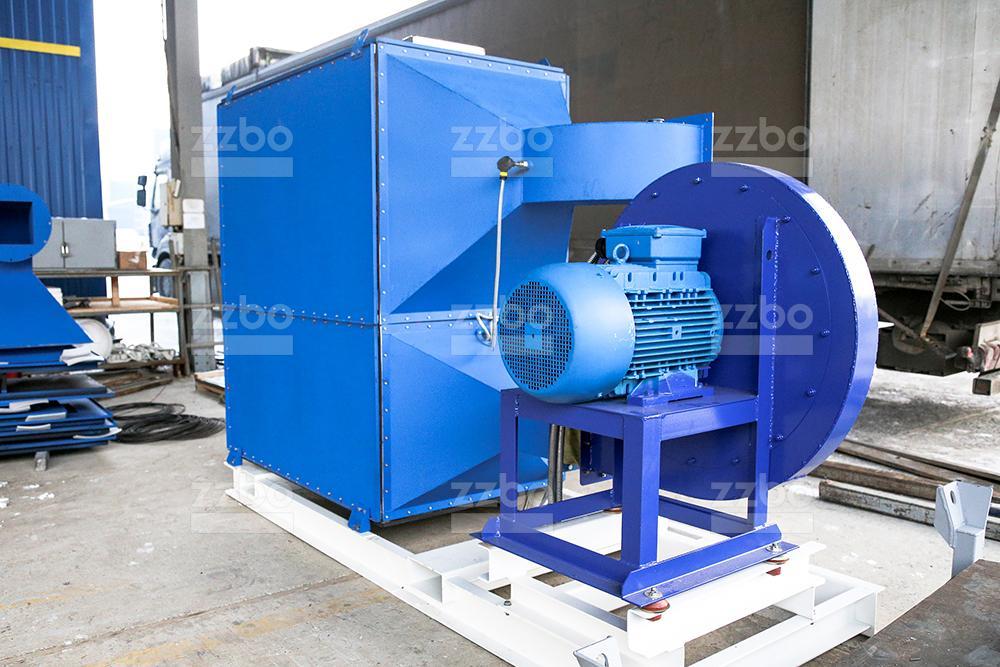 Дизельный теплогенератор ТГВ-800 </br>  в блок-контейнере - фото 34