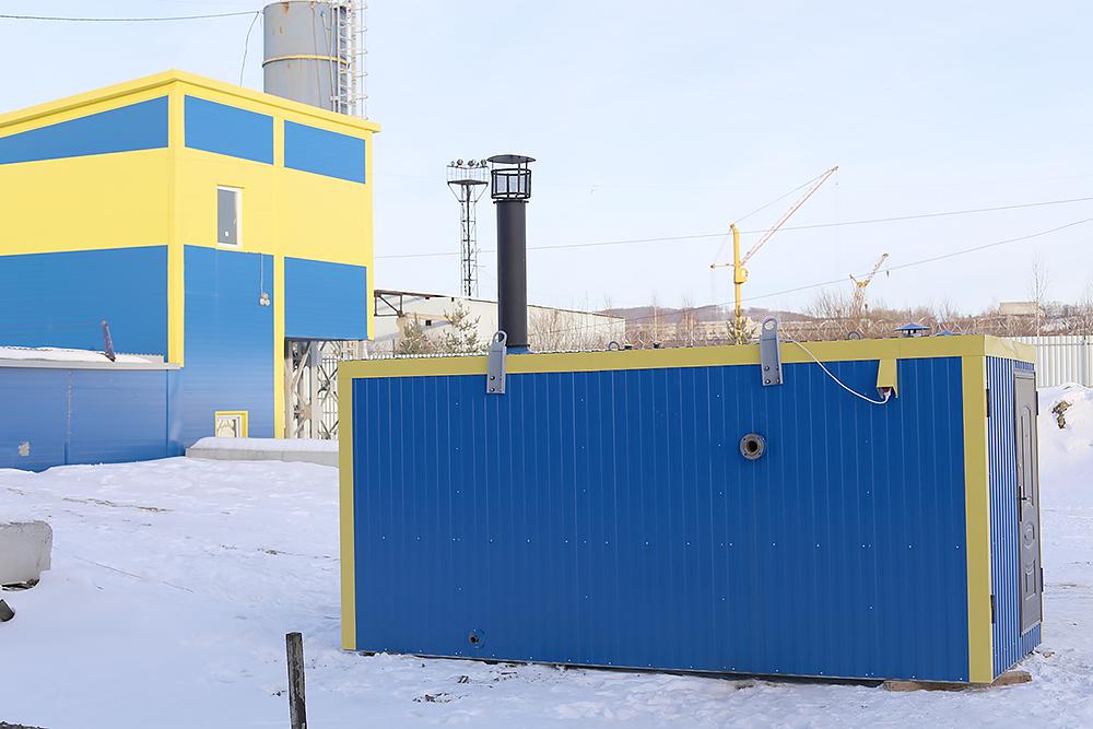 Блок контейнер под ПГ-500; ПГ-1000; ВК-10 - фото 4