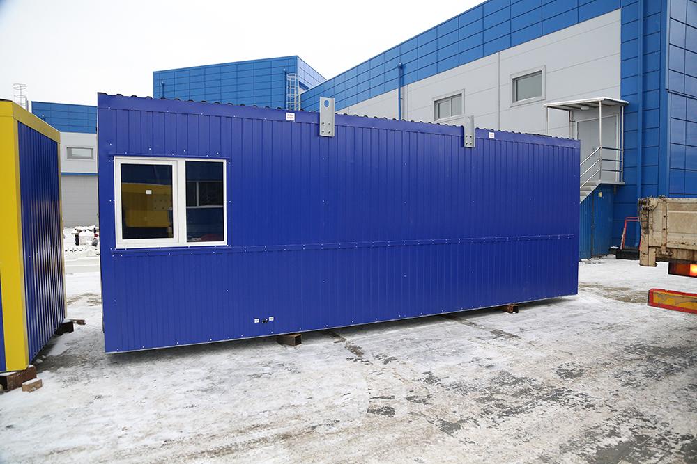 Блок контейнер под ТГВ-600 и ПГ-2000