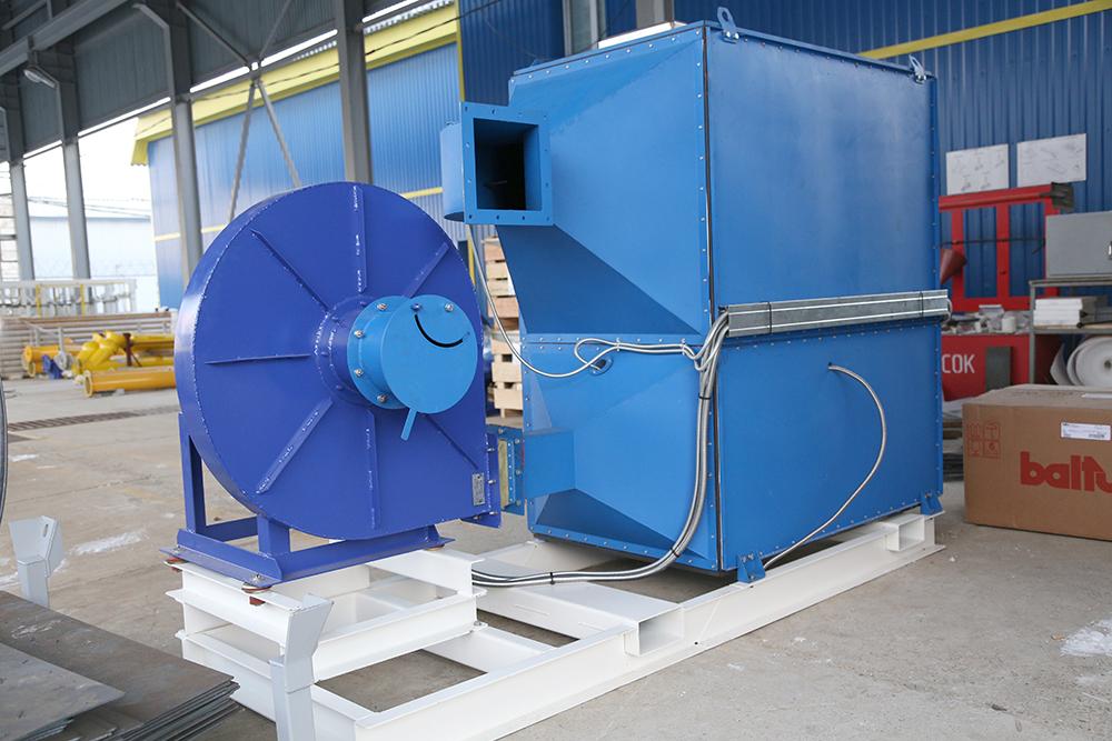 Газовый теплогенератор ТГВ-600 на раме - фото 4
