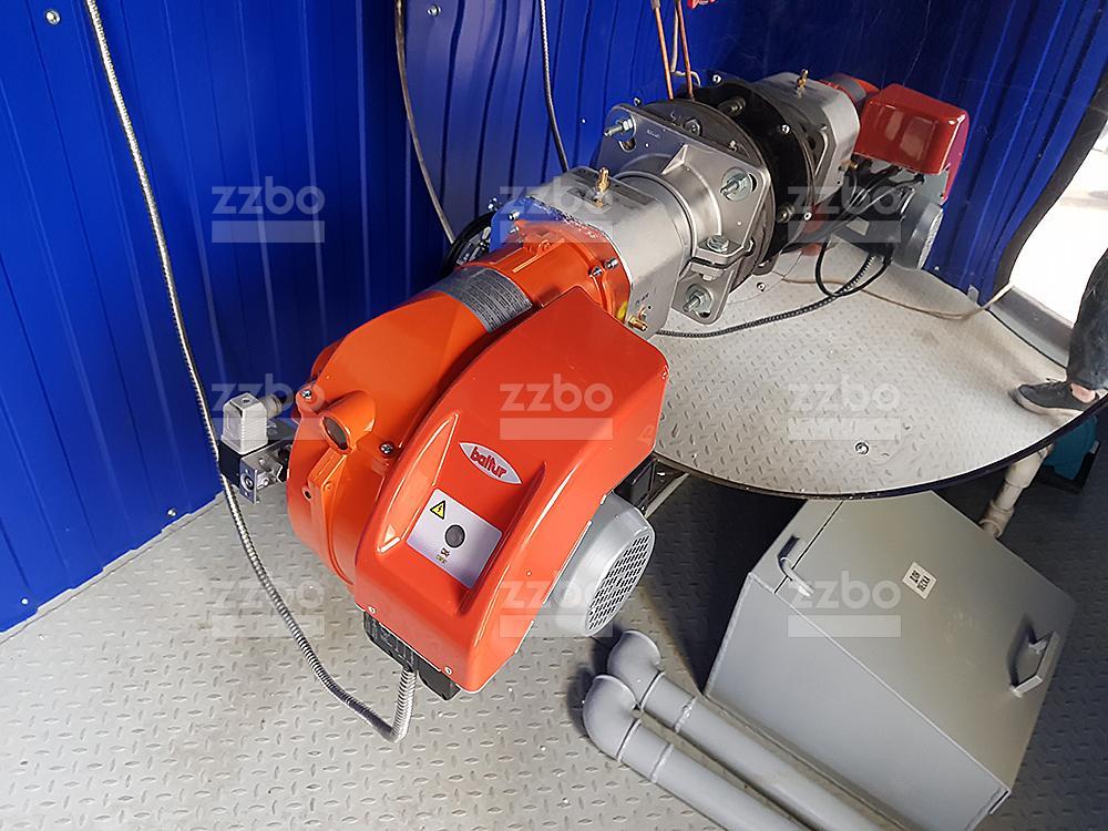 Газовый парогенератор ПГ-500 на раме - фото 5
