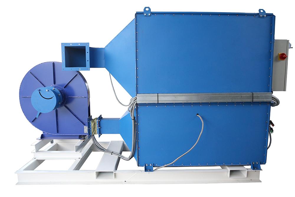Газовый теплогенератор ТГВ-600 на раме - фото 31