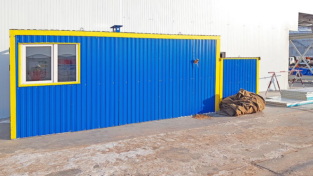 Блок контейнер под ТГВ-600 и ПГ-2000 - фото 6