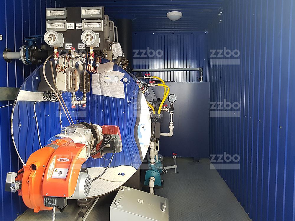 Газовый парогенератор ПГ-500 на раме - фото 7