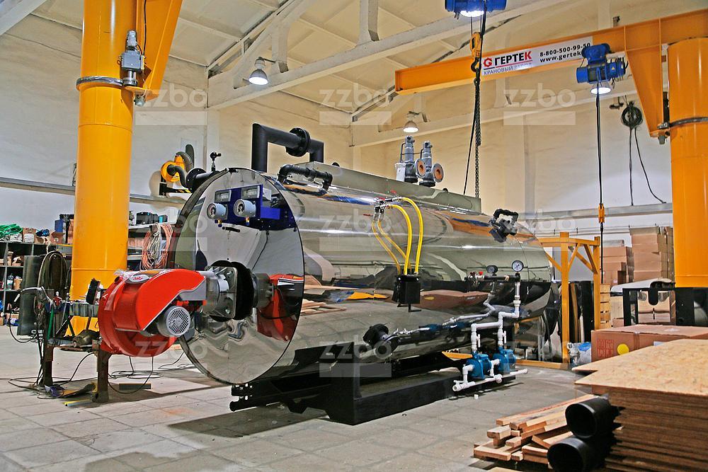 Дизельный парогенератор ПГ-2000 на раме - фото 18