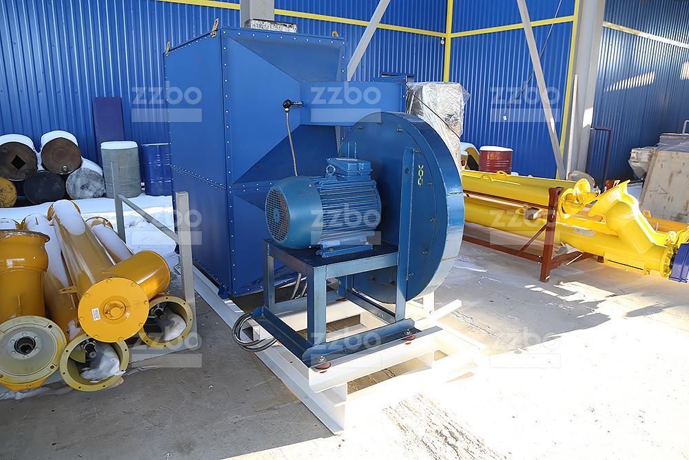 Дизельный теплогенератор ТГВ-800 </br>  в блок-контейнере - фото 30