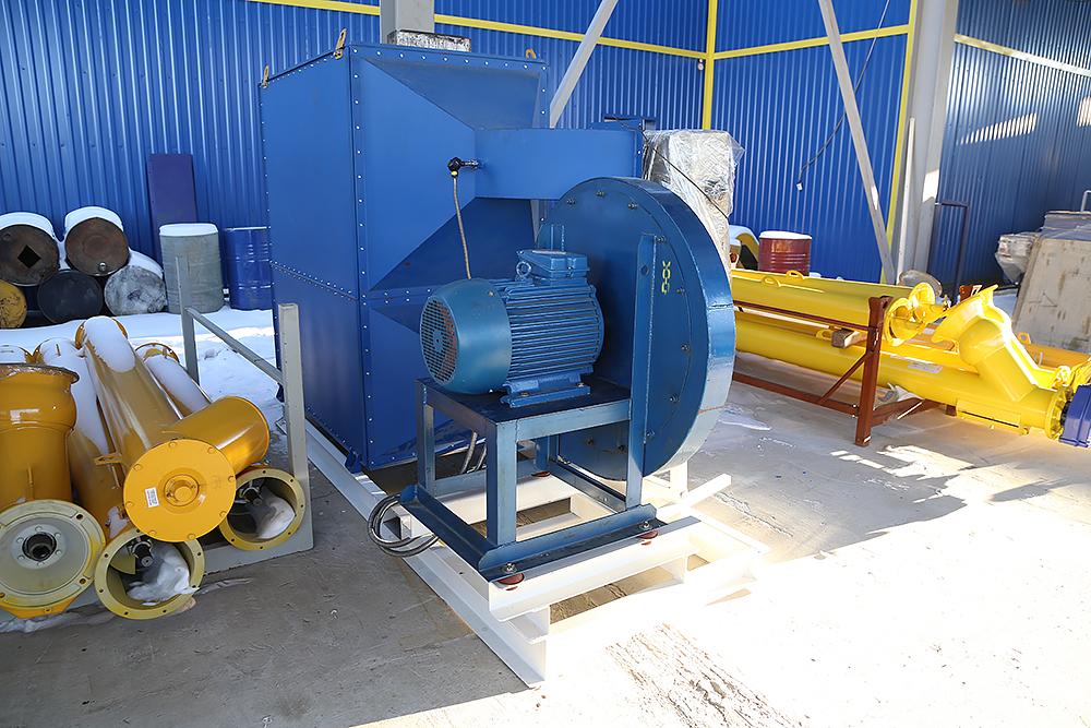 Газовый теплогенератор ТГВ-600 на раме - фото 29