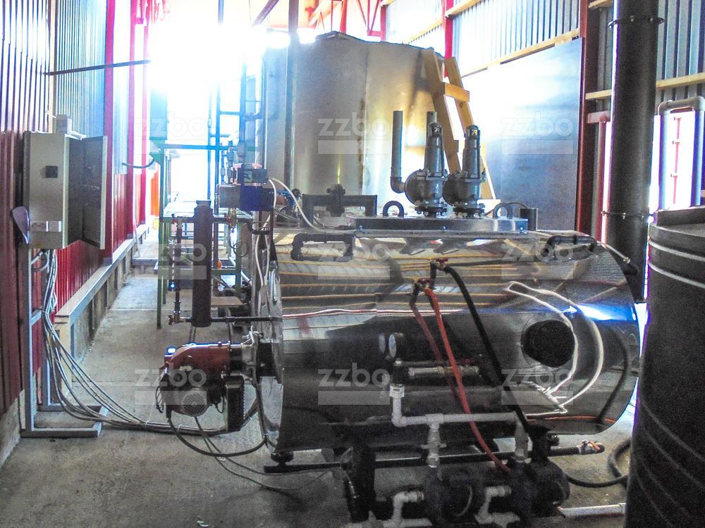 Газовый парогенератор ПГ-500 на раме - фото 16
