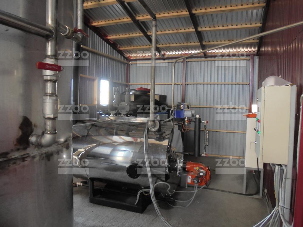 Газовый парогенератор ПГ-500 на раме - фото 12