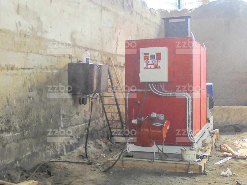 Дизельный теплогенератор ТГВ-800 </br>  в блок-контейнере - фото 12