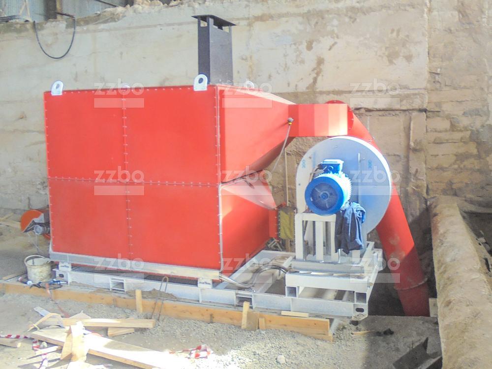Дизельный теплогенератор ТГВ-800 </br>  в блок-контейнере - фото 11