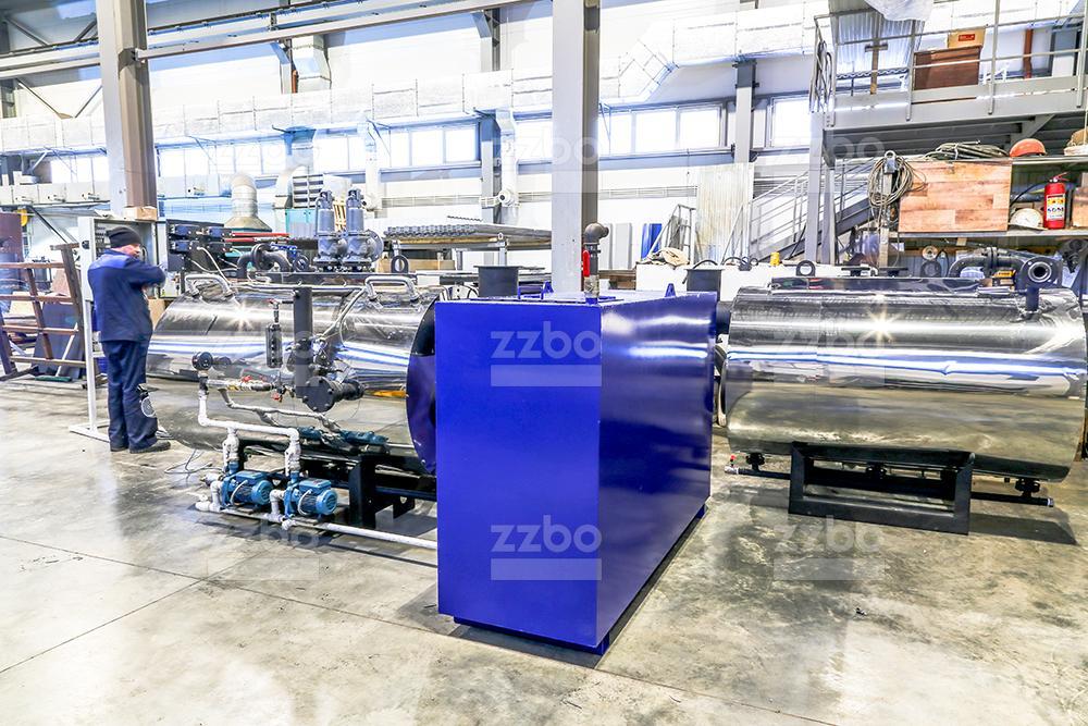Газовый парогенератор ПГ-500 на раме - фото 9