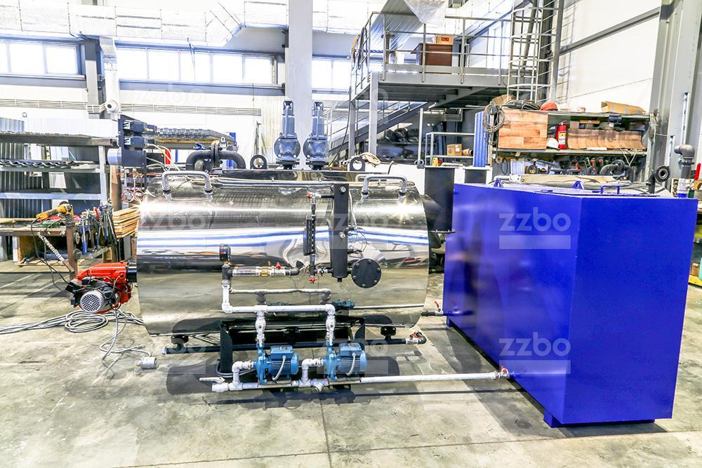 Газовый парогенератор ПГ-500 на раме - фото 8