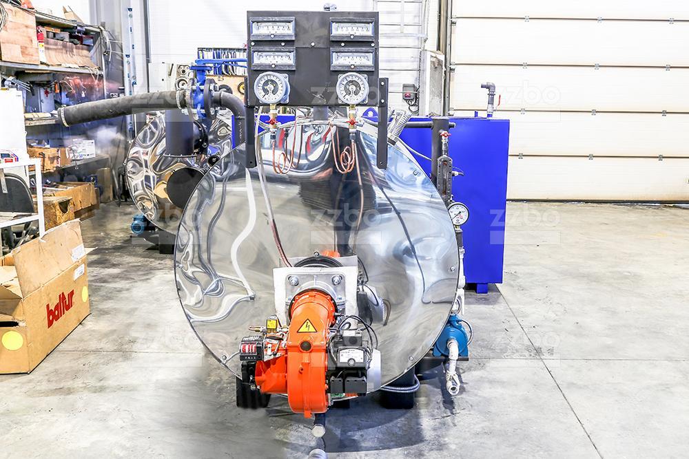 Газовый парогенератор ПГ-500 на раме - фото 6