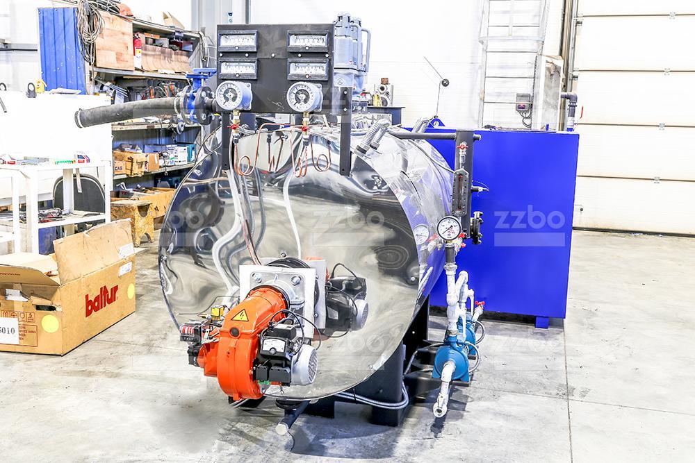 Газовый парогенератор ПГ-500 на раме - фото 4